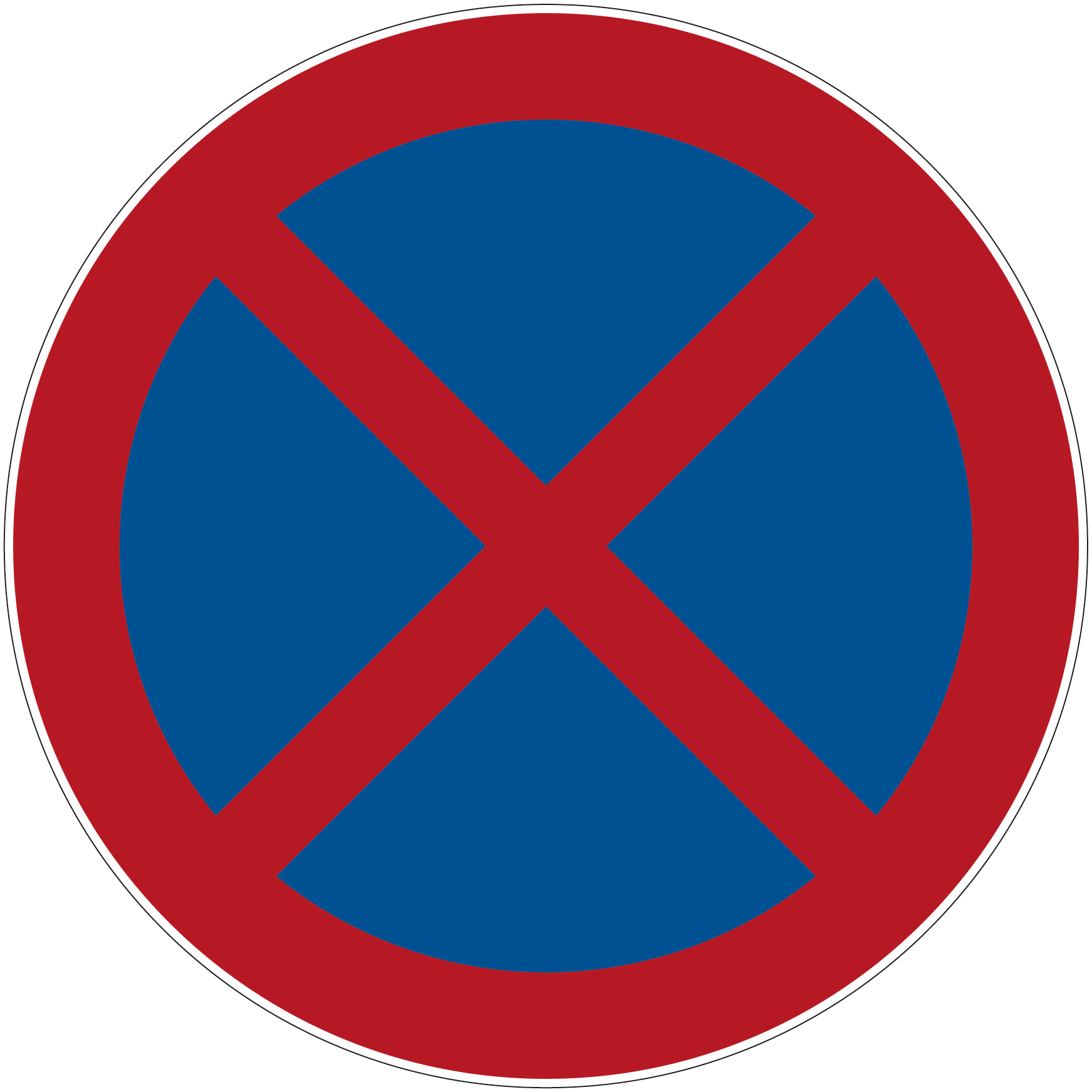 """No access for forklifts"" floor symbol"
