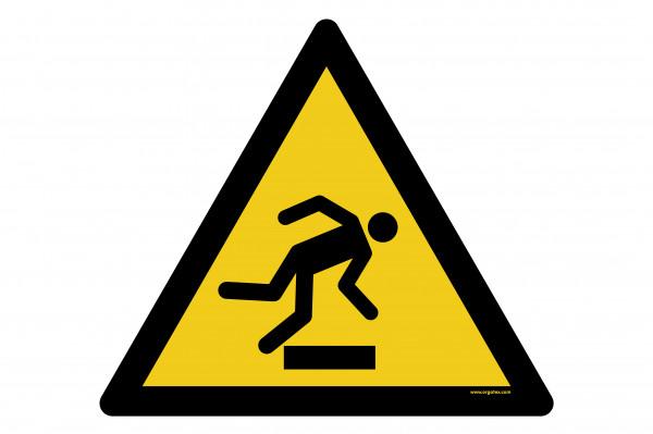 """Señal para pisos """"Advertencia de obstáculos en el suelo"""""""