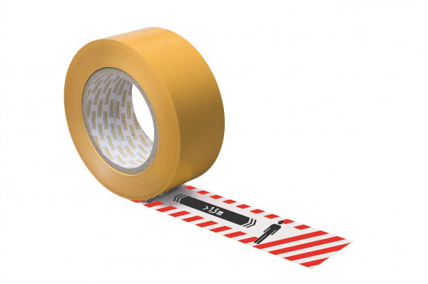 """LongLife Bodenkennzeichnungsbänder """"Abstand halten"""""""