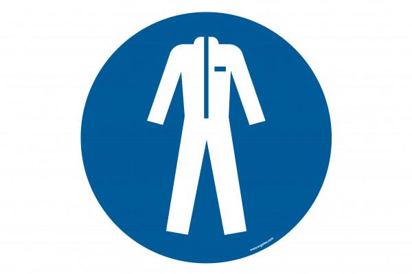 "Floor symbol ""Wear protective clothing"""
