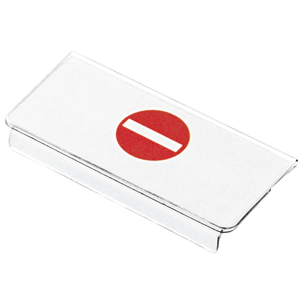 Sperrschild für Systemboxen