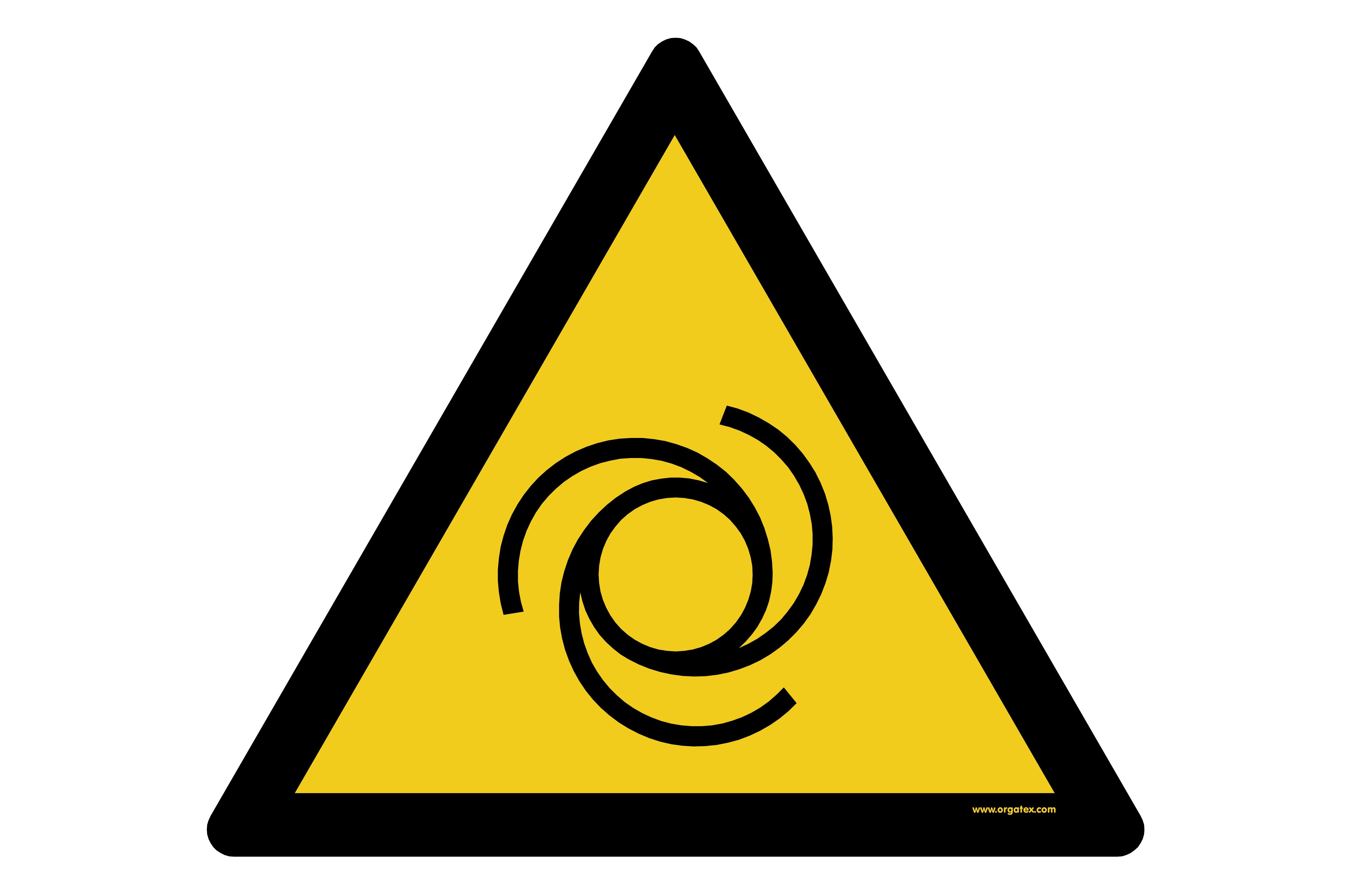 "Floor symbol ""Warning of automatic start"""